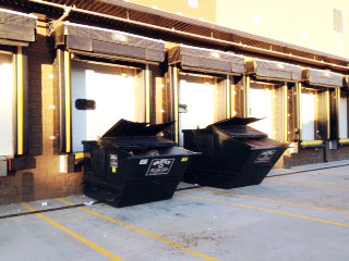commercial waste containers