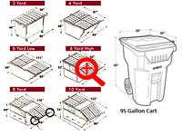 dumpsters blue prints